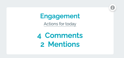 Splitting mentions and comments