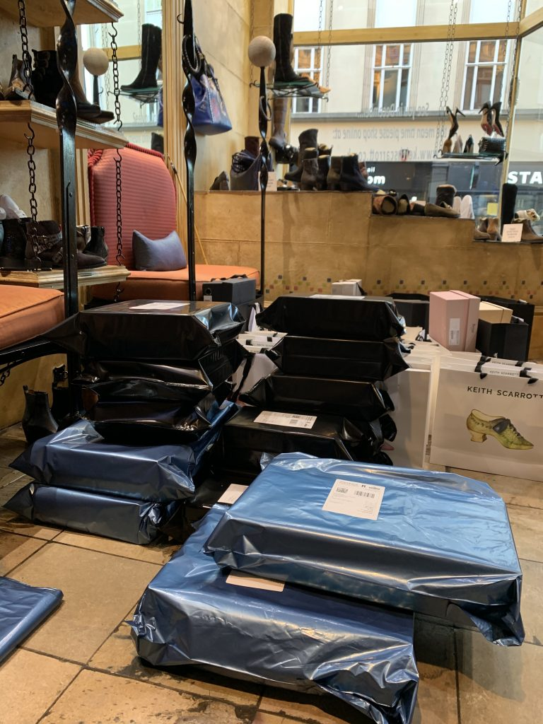 Stated packing orders