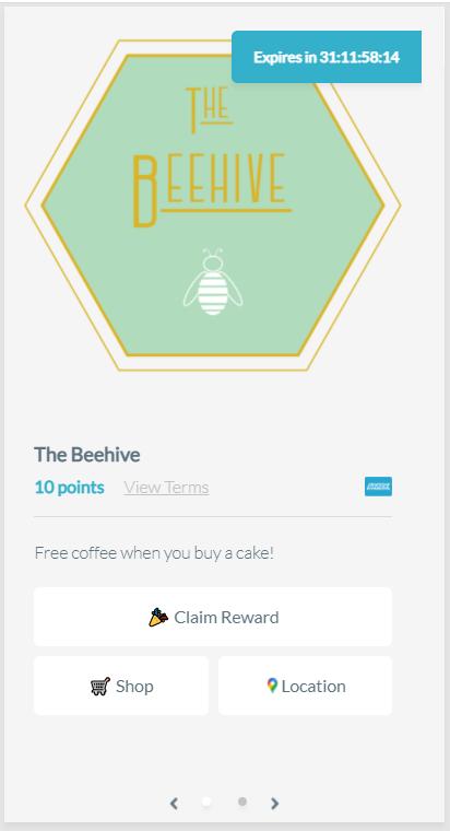 Local Rewards offer